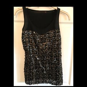 Limited sequin tank